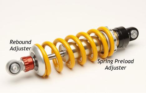 spring preload adjuster