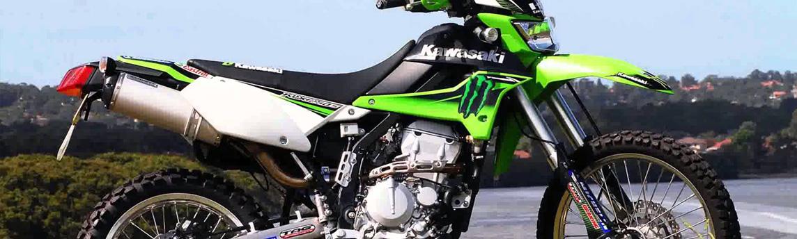 Kawasaki KLX 250S suspension upgrades