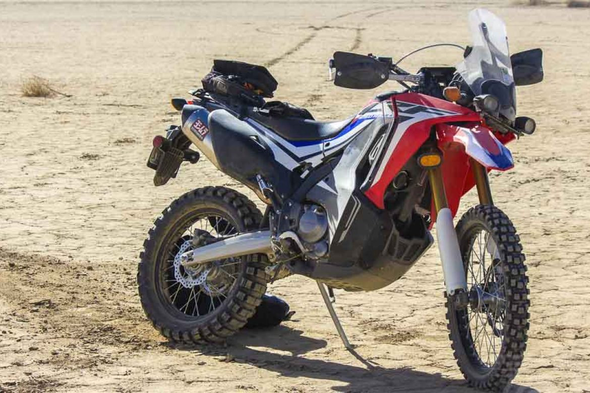 CityBike Features Honda's CRF250L Rally with Cogent Dynamics Suspension Upgrades