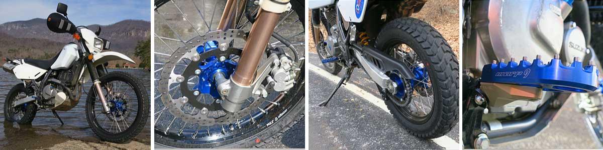 suzuki dr650 suspension upgrades